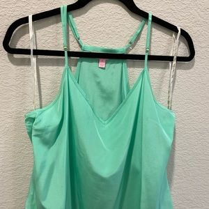 Green Lilly Pulitzer tank